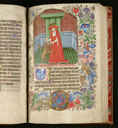St. Jerome And The Lion, In The Caesar Master Hours